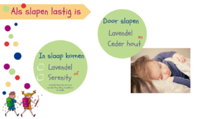 Als slapen lastig is