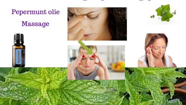 Hulp bij hoofdpijn / migraine