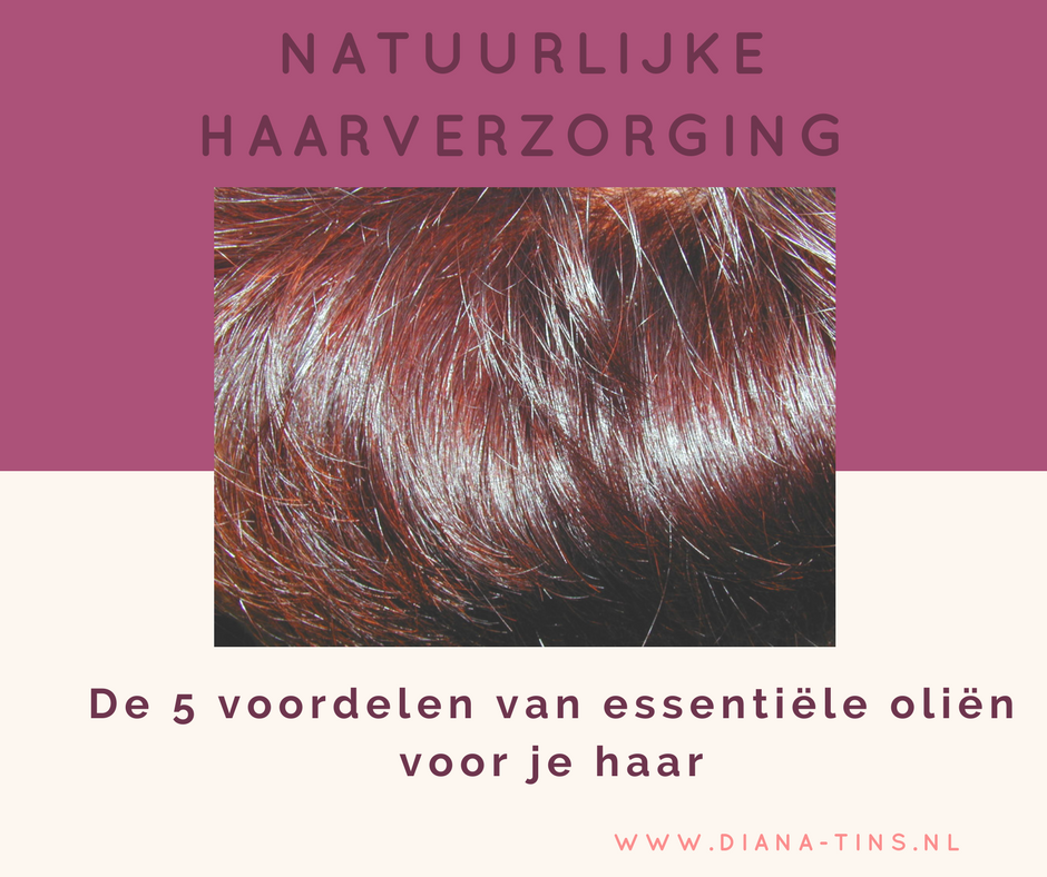 5 voordelen van het gebruik van essentiële oliën voor je haar