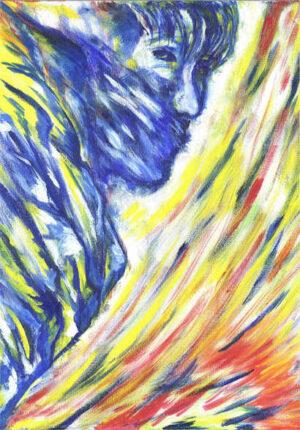 intuïtief schilderen monddood