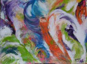 intuïtief schilderen standvastigheid