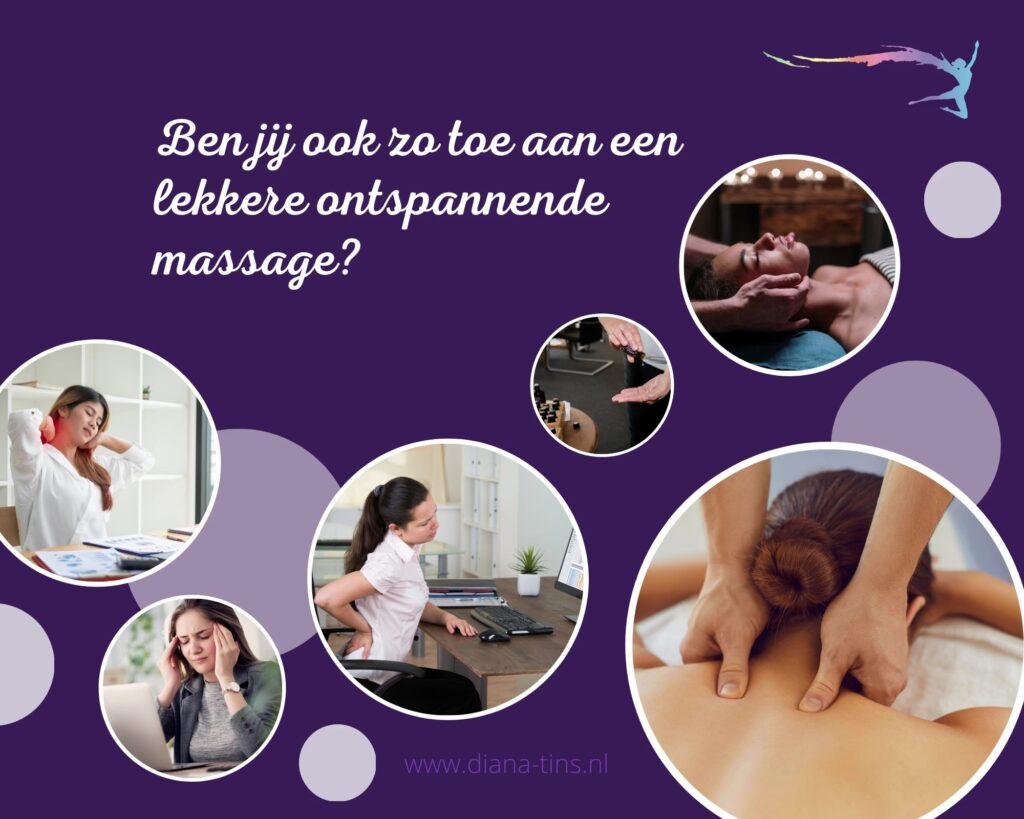 Ben je toe aan massage?
